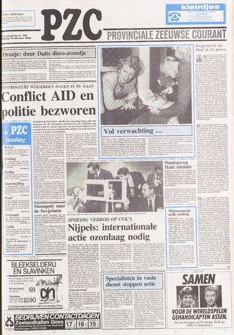 Provinciale Zeeuwse Courant 1988-10-18