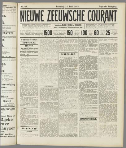 Nieuwe Zeeuwsche Courant 1913-06-14