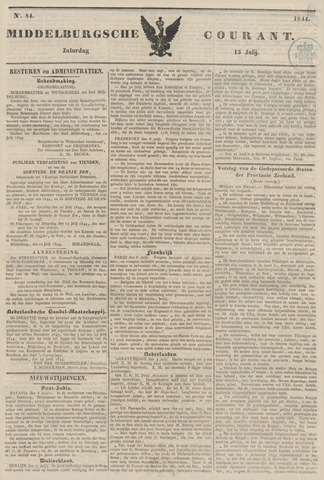 Middelburgsche Courant 1844-07-13