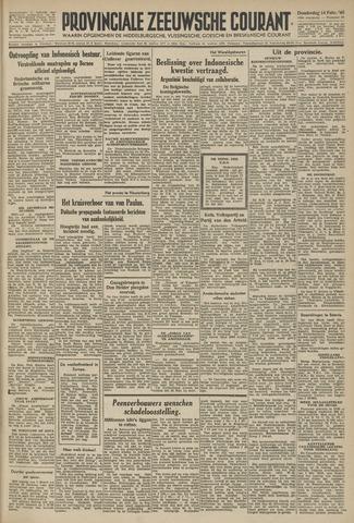 Provinciale Zeeuwse Courant 1946-02-14