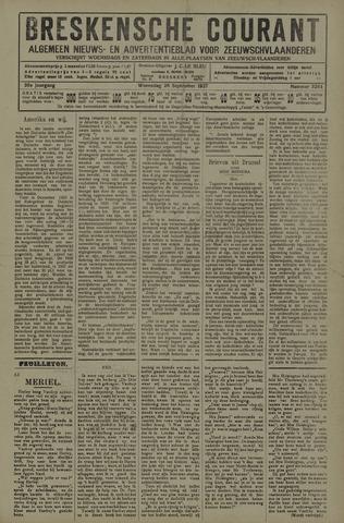 Breskensche Courant 1927-09-28