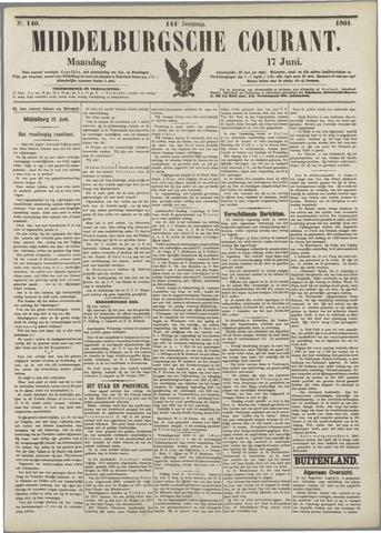 Middelburgsche Courant 1901-06-17