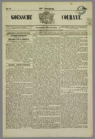 Goessche Courant 1855-01-25