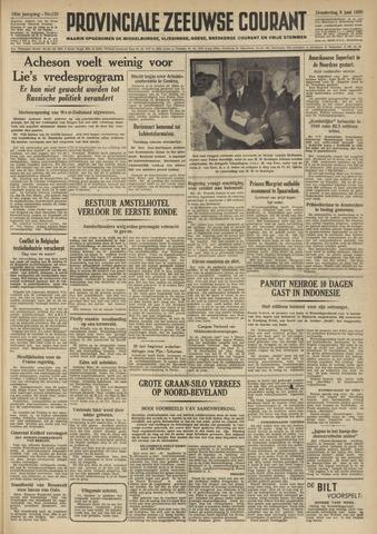Provinciale Zeeuwse Courant 1950-06-08