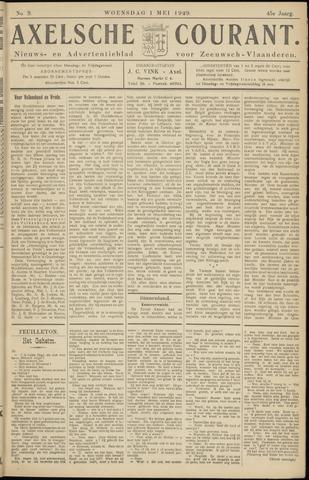 Axelsche Courant 1929-04-30