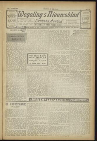 Zeeuwsch Nieuwsblad/Wegeling's Nieuwsblad 1929-05-31