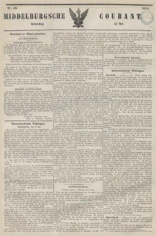 Middelburgsche Courant 1851-05-17