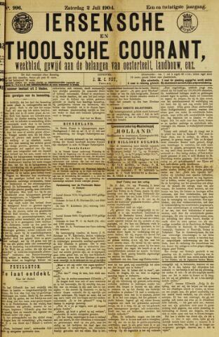 Ierseksche en Thoolsche Courant 1904-07-02
