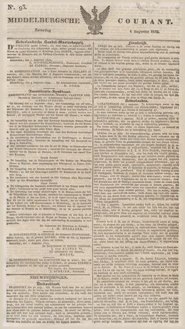Middelburgsche Courant 1832-08-04
