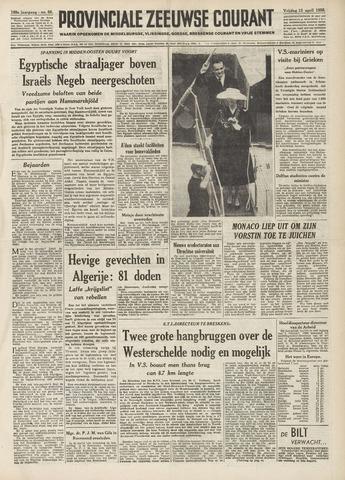 Provinciale Zeeuwse Courant 1956-04-13
