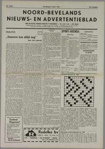 Noord-Bevelands Nieuws- en advertentieblad 1982-03-04