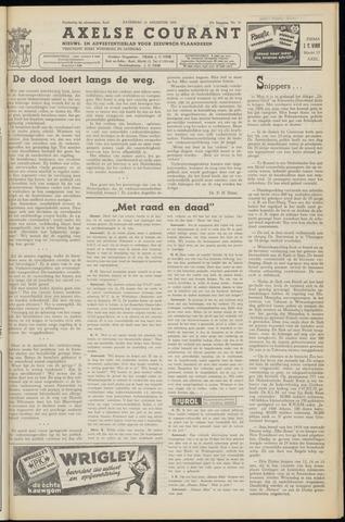 Axelsche Courant 1953-08-22
