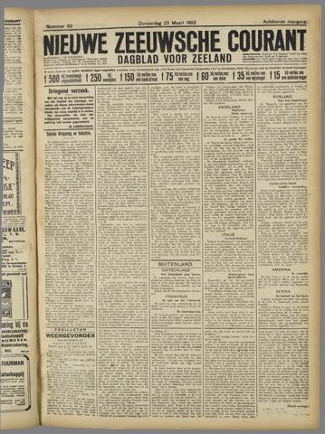 Nieuwe Zeeuwsche Courant 1922-03-23