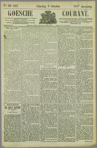 Goessche Courant 1917-10-09
