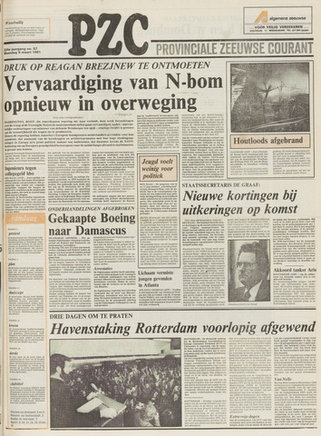 Provinciale Zeeuwse Courant 1981-03-09