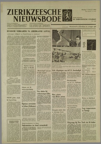 Zierikzeesche Nieuwsbode 1965-02-09