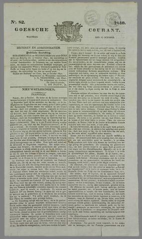 Goessche Courant 1840-10-12