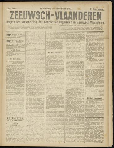 Luctor et Emergo. Antirevolutionair nieuws- en advertentieblad voor Zeeland / Zeeuwsch-Vlaanderen. Orgaan ter verspreiding van de christelijke beginselen in Zeeuwsch-Vlaanderen 1919-12-24
