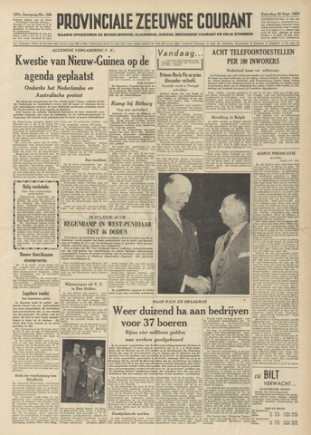 Provinciale Zeeuwse Courant 1954-09-25