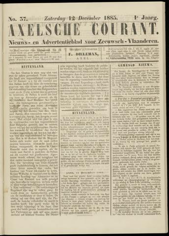 Axelsche Courant 1885-12-12