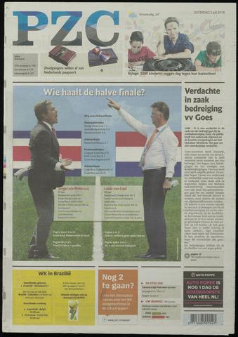 Provinciale Zeeuwse Courant 2014-07-05