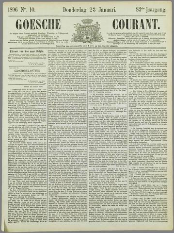 Goessche Courant 1896-01-23