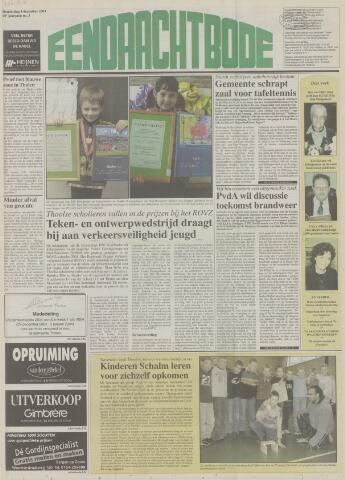 Eendrachtbode (1945-heden)/Mededeelingenblad voor het eiland Tholen (1944/45) 2003-12-04
