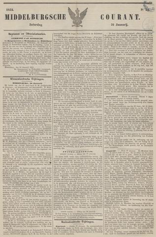 Middelburgsche Courant 1852-01-31