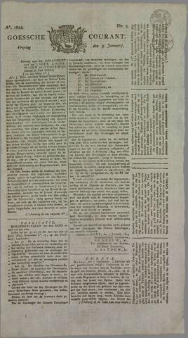 Goessche Courant 1824-01-09