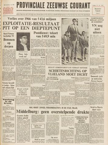 Provinciale Zeeuwse Courant 1967-07-21
