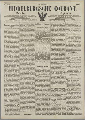 Middelburgsche Courant 1897-09-11