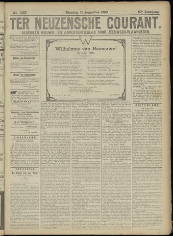 Ter Neuzensche Courant. Algemeen Nieuws- en Advertentieblad voor Zeeuwsch-Vlaanderen / Neuzensche Courant ... (idem) / (Algemeen) nieuws en advertentieblad voor Zeeuwsch-Vlaanderen 1920-08-31