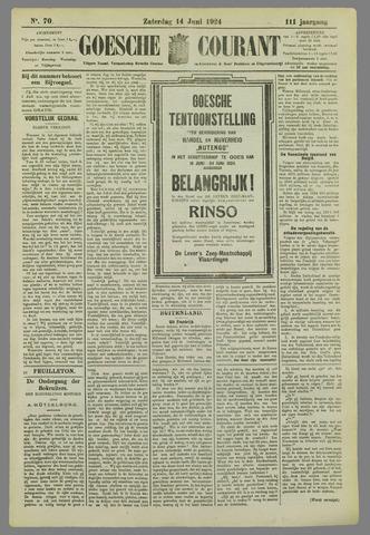 Goessche Courant 1924-06-14