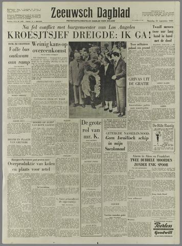 Zeeuwsch Dagblad 1959-09-21