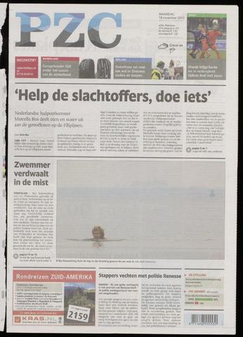 Provinciale Zeeuwse Courant 2013-11-18