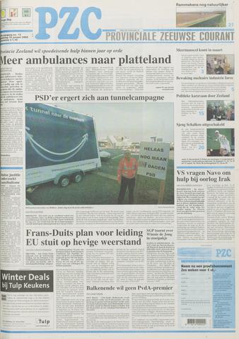 Provinciale Zeeuwse Courant 2003-01-16