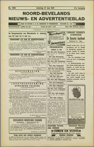Noord-Bevelands Nieuws- en advertentieblad 1941-06-21