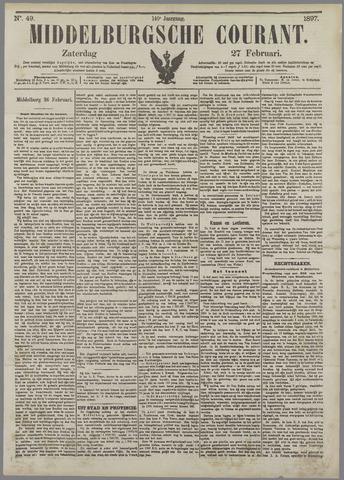 Middelburgsche Courant 1897-02-27