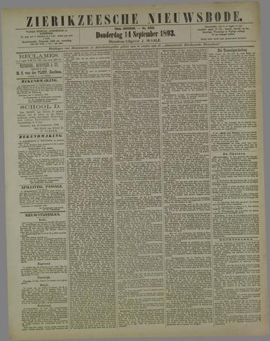 Zierikzeesche Nieuwsbode 1893-09-14