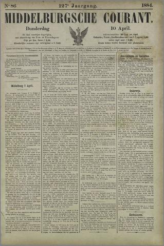 Middelburgsche Courant 1884-04-10