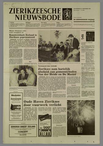 Zierikzeesche Nieuwsbode 1985-10-31