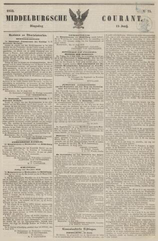 Middelburgsche Courant 1852-06-15