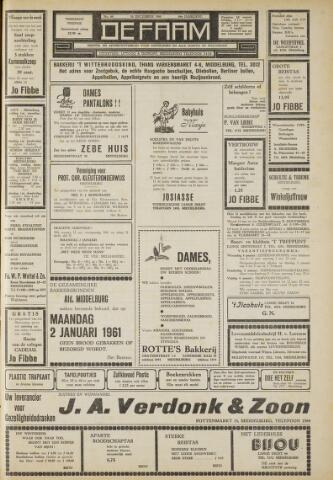 de Faam en de Faam/de Vlissinger 1960-12-30
