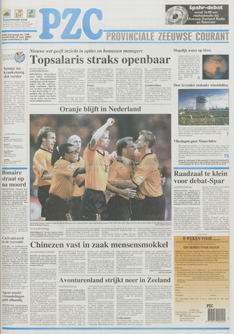 Provinciale Zeeuwse Courant 2000-06-22