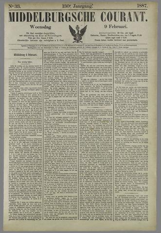 Middelburgsche Courant 1887-02-09
