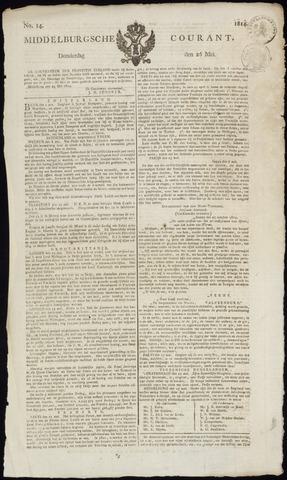 Middelburgsche Courant 1814-05-26