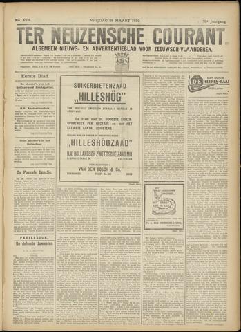 Ter Neuzensche Courant. Algemeen Nieuws- en Advertentieblad voor Zeeuwsch-Vlaanderen / Neuzensche Courant ... (idem) / (Algemeen) nieuws en advertentieblad voor Zeeuwsch-Vlaanderen 1930-03-28