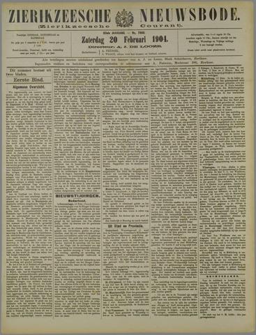 Zierikzeesche Nieuwsbode 1904-02-20