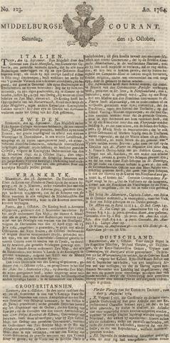 Middelburgsche Courant 1764-10-13