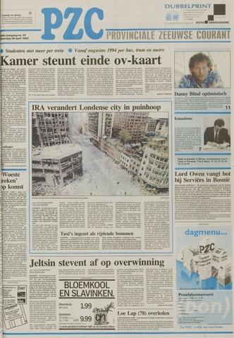 Provinciale Zeeuwse Courant 1993-04-26